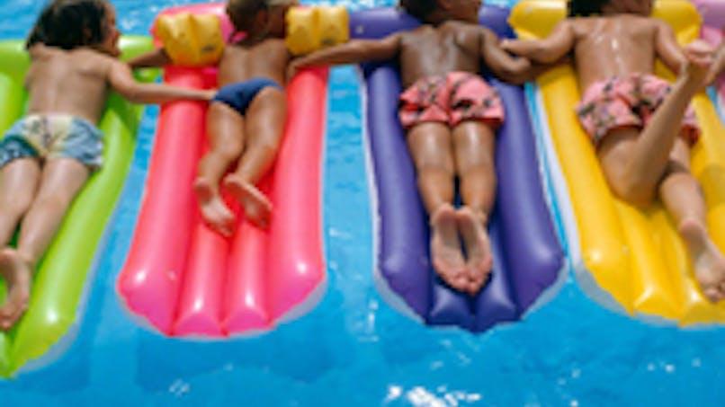 Trop d'enfants sans vacances