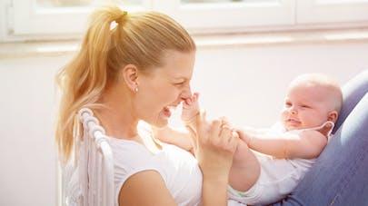 d0f00a028c94e Bébé 5 mois   tout sur les progrès des enfants de 5 mois