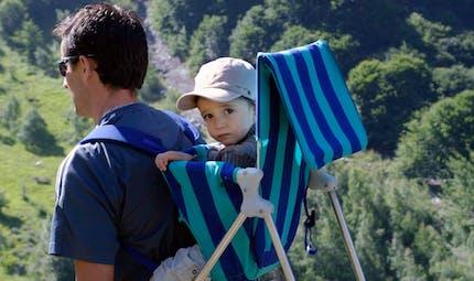 Banc d'essai 2012 des porte-bébés dorsaux