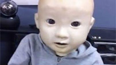 Affetto, un drôle de bébé-robot
