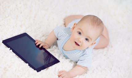 Les tablettes tactiles pour bébé