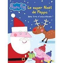 Le Super Noël de Peppa-Mon livre d'autocollants