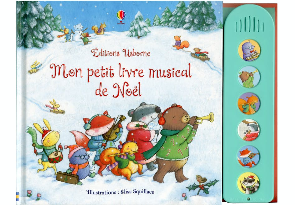 « Mon petit livre musical, Noël »