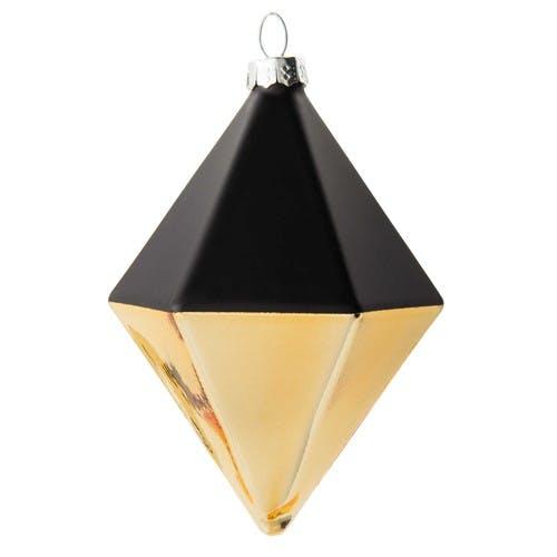 Déco géométrique noire et or