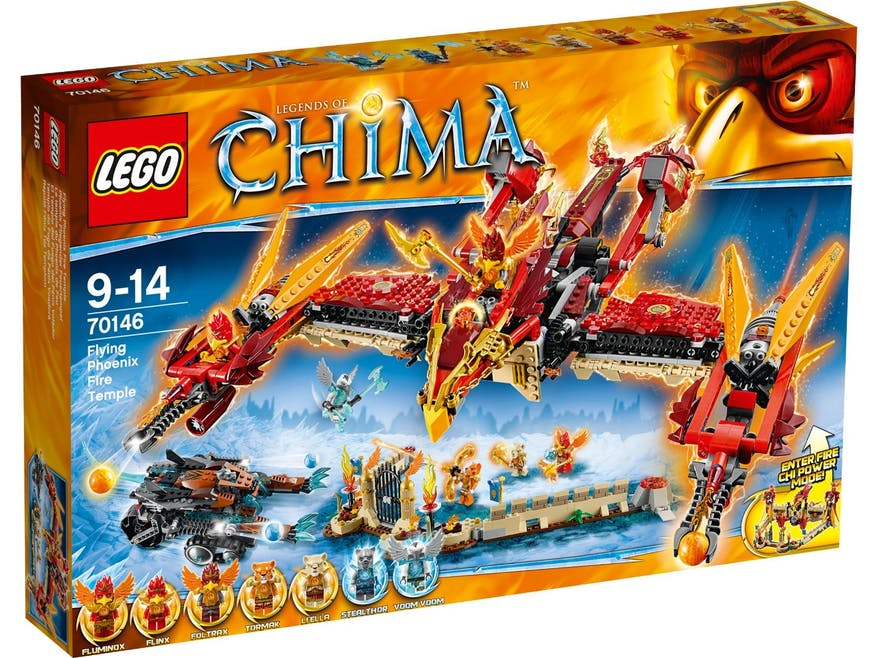 Le temple du Phoenix de feu