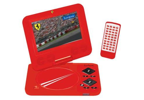 Lecteur DVD/DIVX portable Ferrari