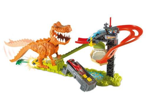 T-Rex attaque