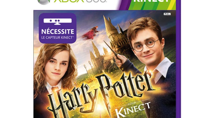 Harry Potter pour Kinect XBOX