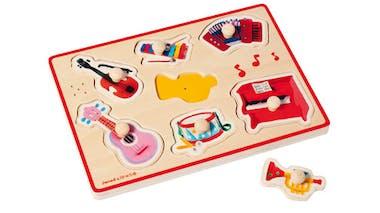 Encastrement musical instruments