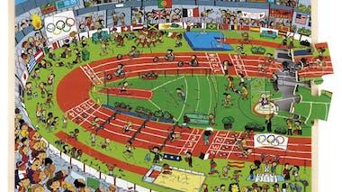 Puzzle « Le stade »