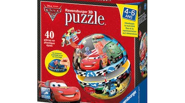 Puzzle ball Cars 2 : Flash McQueen et ses amis