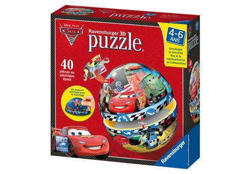 Puzzle ball Cars 2 : Flash McQueen et ses amis