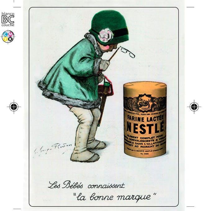 Affiche Nestlé - image