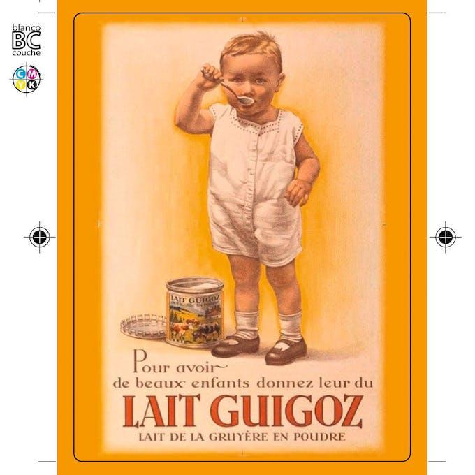 Affiche Guigoz - image
