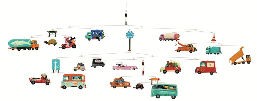 Mobile enfant Traffic