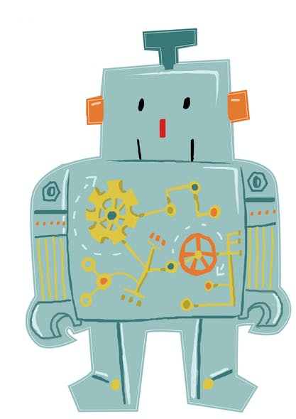 Mon premier Sticker Robot