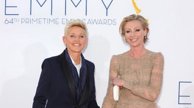 Portia De Rossi et Ellen DeGeneres