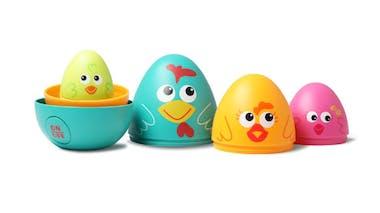 Chasse aux œufs interactive