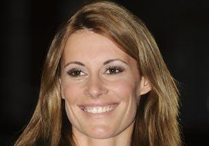 Sophie Thalmann, Miss France 98, animatrice sur Equidia       et Vivolta