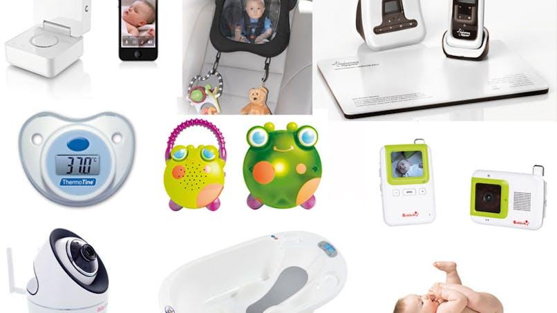 La puériculture high-tech pour les parents geeks ou   stressés