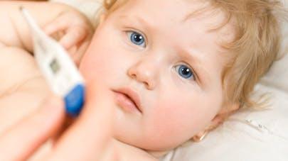 enfant malade - image