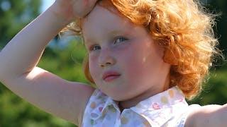 Les enfants roux, côté santé