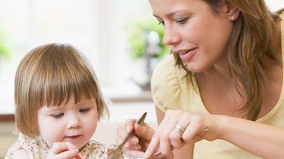 repas enfant - image