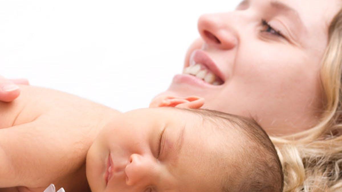 porter bébé - image