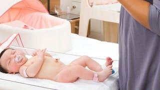 Les soins de l'ombilic