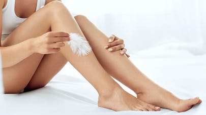 soins des jambes