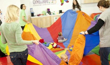 Gymboree : la gym pour bébé, dès le berceau