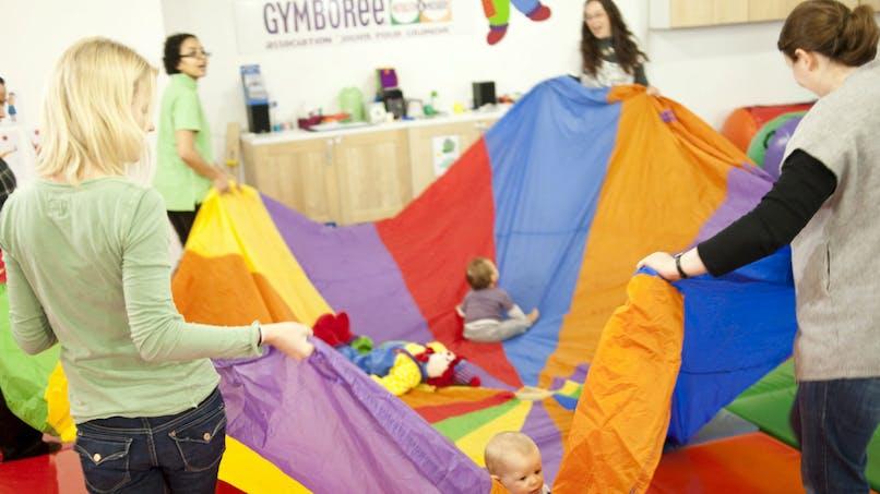 Gymboree : la gym pour enfant dès le berceau
