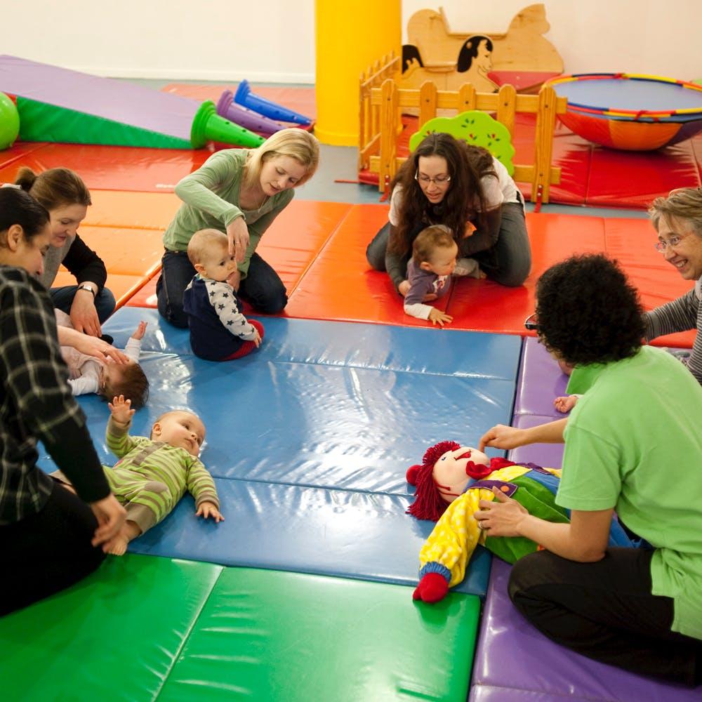 gymborée groupe enfant - image