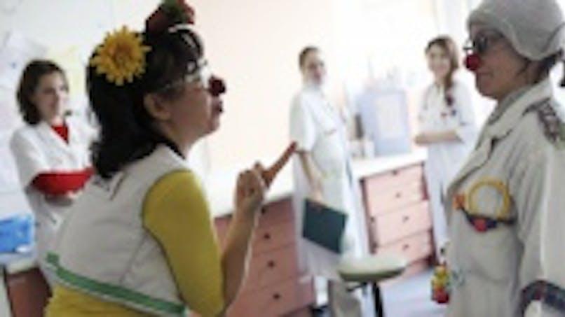 Des clowns à l'hôpital