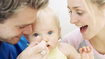 Le petit-déjeuner de bébé entre 1 an et 2 ans