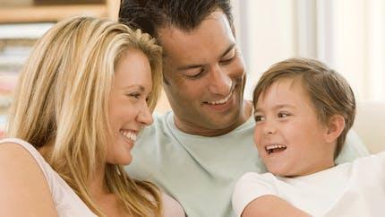 Parents mariés, enfants moins gros