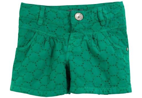 Short vert émeraude