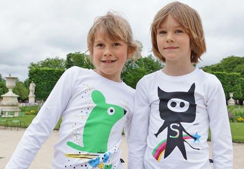 T-shirt pour petits rigolos