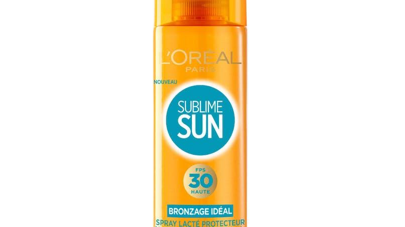 Spray bronzage idéal