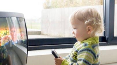 bébé télévision - image