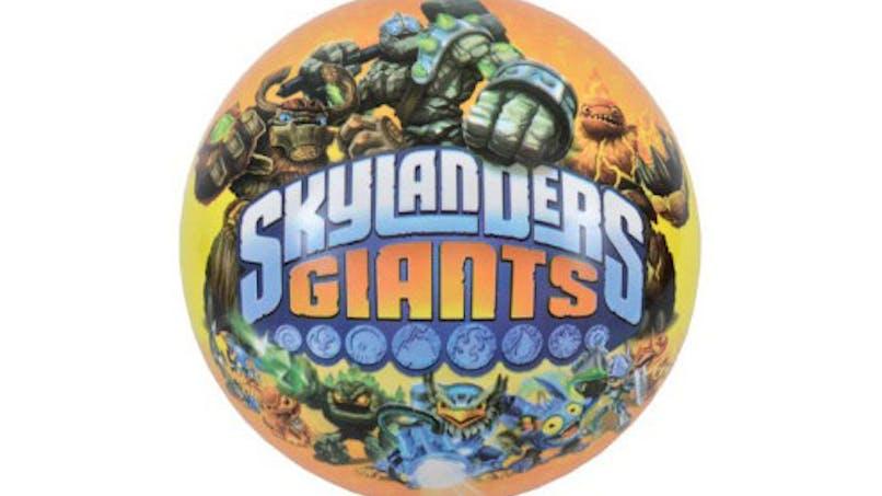 Ballon plastique Skylanders