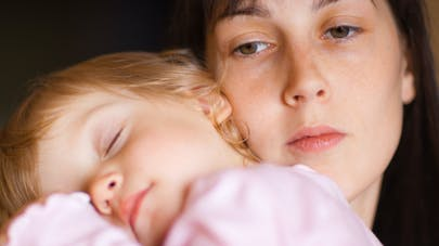 fatigue, bébé, sommeil, maman