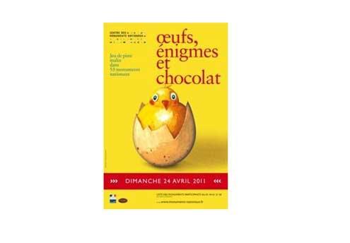 Œufs, énigmes et chocolats