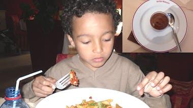 Bistro Romain, Menu Bambino réservé aux enfants de moins       de 12 ans