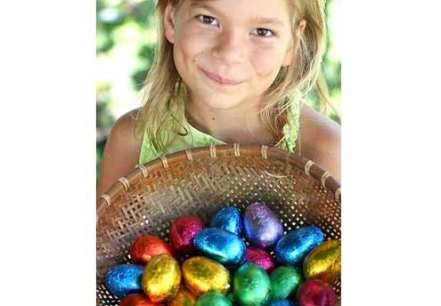 Chasse aux œufs de Pâques à la Ferme de Gally