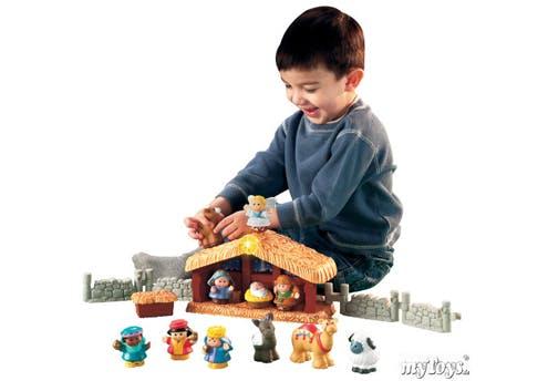 Crèche Little People de Fisher-Price