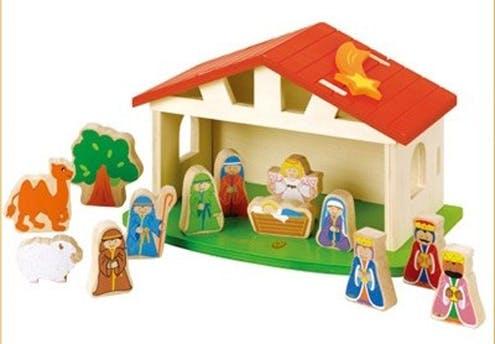 Crèche de Noël EverEarth