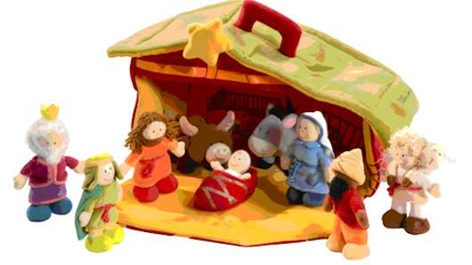 11 crèches de Noël pour les enfants