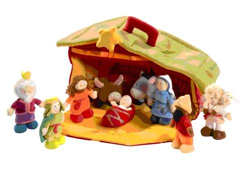 Creche De Noel Enfant 11 crèches de Noël pour les enfants | PARENTS.fr