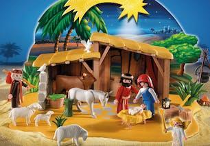 Crèche de Noël Playmobil